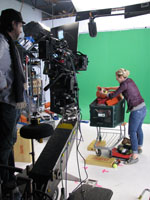 Commercial Shot for Dick's Sporting Goods on Red One at DPG Studios