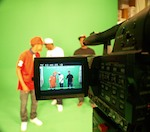 Hi Def Music Video on Green Screen